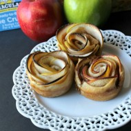 Cinnamon Apple Rose tart 12