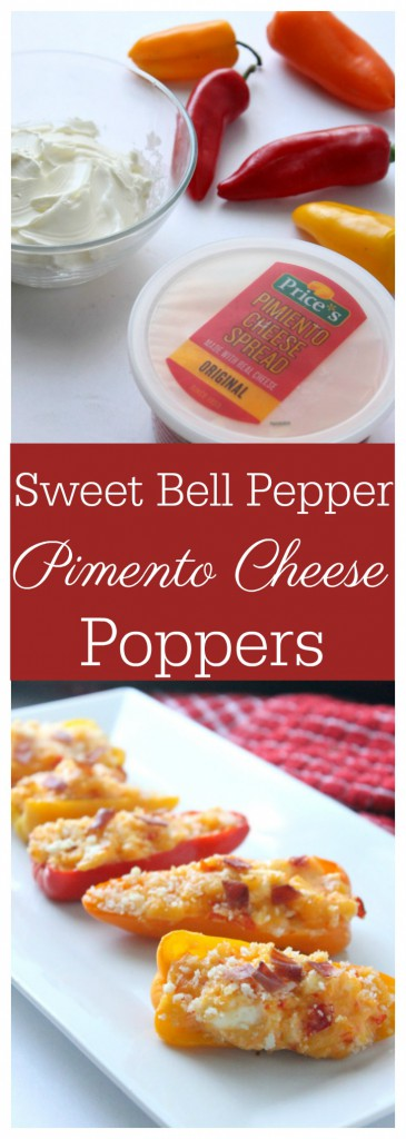 sweet bell pepper pimento cheese poppers