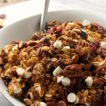 White Chocolate Cranberry Pecan Granola Cereal