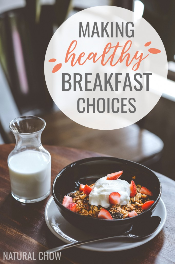 On those days when you're rushing to get out the door on time, it can be hard to choose health over convenience. So here's a list of healthy breakfast ideas to make your mornings a little more stress-free!