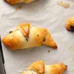 Pesto Mozzarella Crescent Rolls