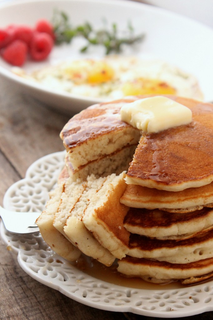 Homemade Pancakes for One Natural Chow